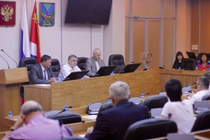 23.07.2015 - the Meeting of Council of Public chamber of Primorye